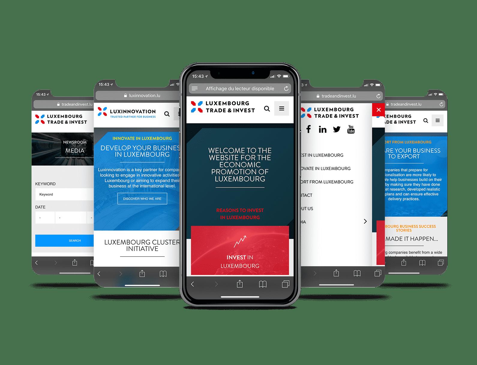 écrans mobiles LuxInnovation